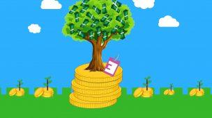 Quem planta dinheiro colhe dinheiro.